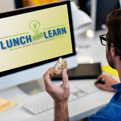 LunchLearnManEating